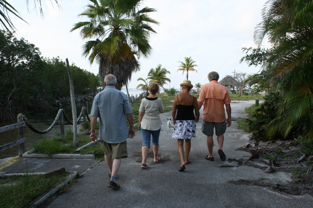 tropical urban exploration with our parents