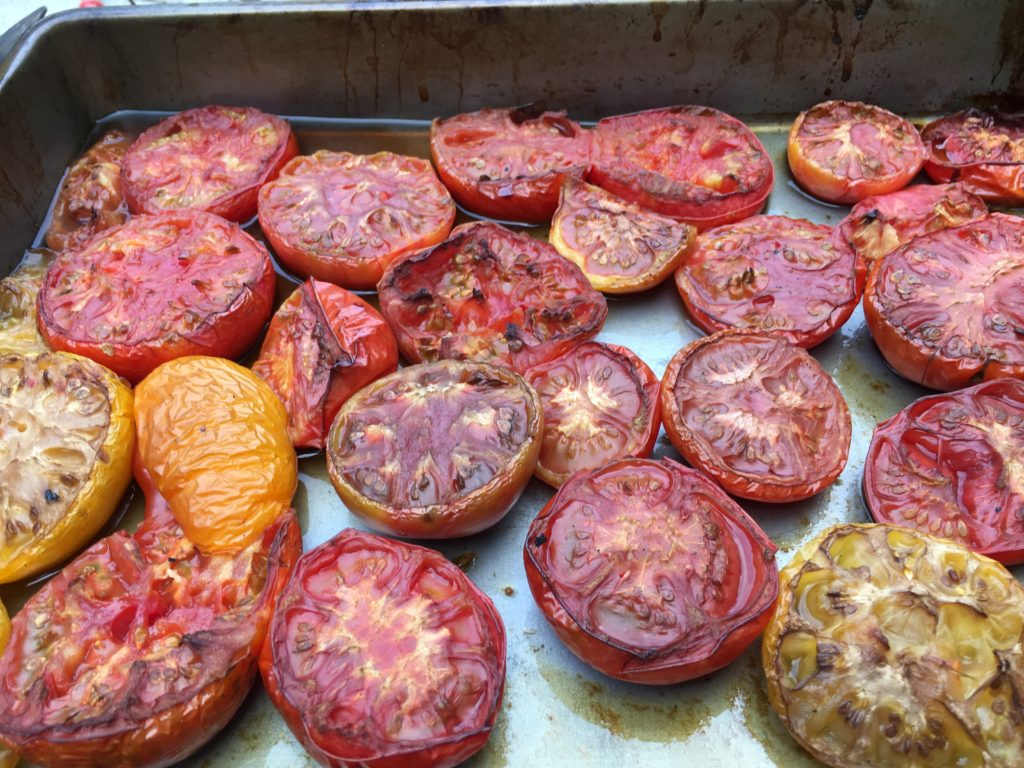 smoked tomatoes for salsa