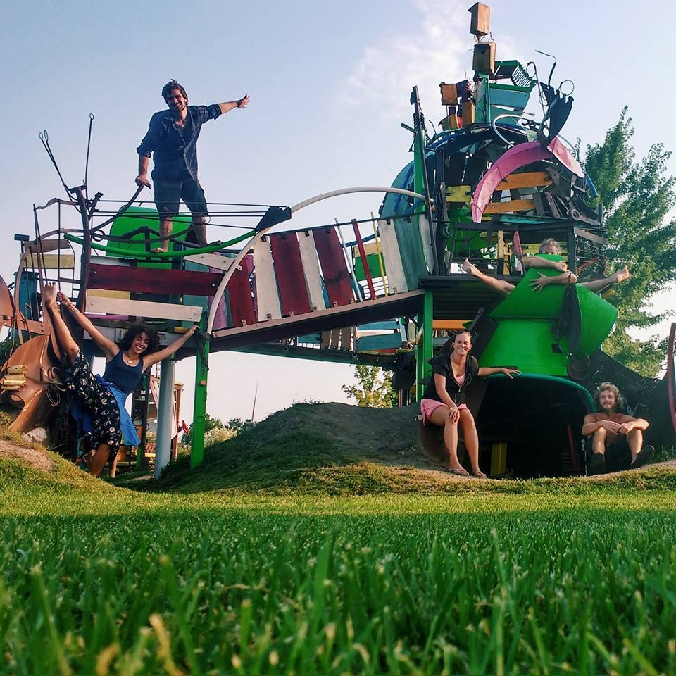 Franconia Sculpture Garden fun