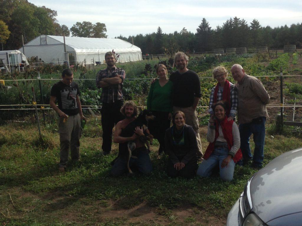 2017 final CSA harvest crew!